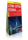 Premium!map Litwa, Łotwa, Estonia 1:700 000 mapa