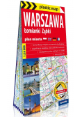 Plastic map Warszawa 1:26 000 plan miasta
