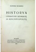 Historyja literatury rzymskiej za Rzeczypospolitej 1909 r.