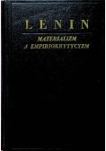 Materializm a empiriokrytycyzm 1949 r.
