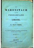 O Maronitach i innych pokoleniach na Libanie 1860 r.