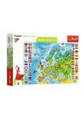 Puzzle Edukacyjne 160 mapa Europy TREFL
