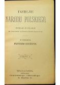 Dzieje Narodu Polskiego 1898 r