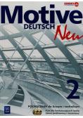 Motive Deutsch Neu 2 Podręcznik dla kontynuujących naukę plus 2CD