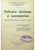 Perfection Chretienne et Contemplation 1923 r.