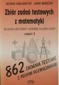 Zbiór zadań testowych z matematyki cz II