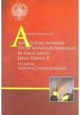 Apostolski wymiar życia konsekrowanego w nauczaniu Jana Pawła II