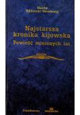 Najstarsza kronika kijowska  Powieść minionych lat