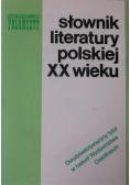 Słownik Literatury Polskiej XX wieku