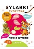 Sylabki Tygryska. Nauka czytania zeszyt 4