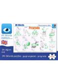 iM-Words Puzzle 120 Angielski - Przyroda