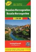 Mapa samochodowa - Bośnia i Hercegowina 1:200 000