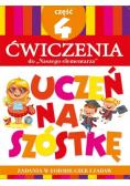 Uczeń na szóstkę. Ćw do Naszego elementarza cz.4
