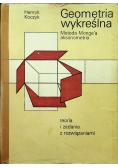Geometria wykreślna Metoda Mongea aksonometria teoria i zadania z rozwiązaniami