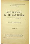 Młodzieniec z charakterem 1933 r.