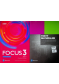 Focus Second Edition 3 Students Book + CD + Testy maturalne
