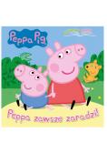 Peppa Pig. Czytajmy razem. Peppa zawsze zaradzi!