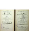 La Foi Et Ses Victoires Tom I i II  ok 1883 r.