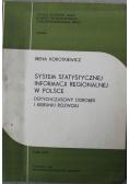 System statystycznej informacji regionalnej w Polsce