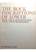 The rock inscriptions of lower Nubia
