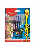 Flamastry Colorpeps Monster 12 kolorów