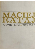 Pamiętniki 1918 - 1927
