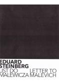 Eduard Steinberg. List do Malewicza
