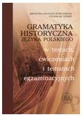 Gramatyka historyczna języka polskiego w testach..
