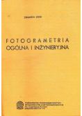 Fotogrametria ogólna i inżynieryjna