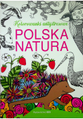 Polska natura Kolorowanki antystresowe