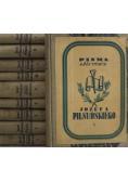 Piłsudski Pisma zbiorowe 10 tomów około 1937r