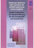 Integracja społeczna jako wyzwanie dla polityki..