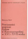 Powinności wojenne Żydów w Rzeczypospolitej w XVI i XVII wieku