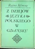 Z dziejów języka polskiego w Gdańsku