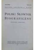 Polski słownik biograficzny zeszyt 116