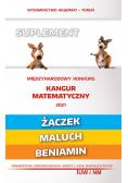 Matematyka z wesołym kangurem Suplem 2021