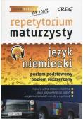 Repetytorium maturzysty Język niemiecki Poziom podstawowy i rozszerzony plus CD