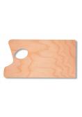 Paleta malarska 39,5x21cm drewniana