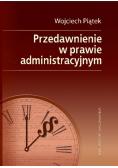 Przedawnienie w prawie administracyjnym