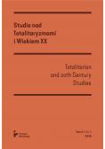 Studia nad totalitaryzmami i wiekiem XX nr 2/2018