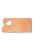 Paleta malarska 29,5x13,5cm drewniana