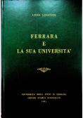 Ferrara e la sua universita