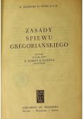 Zasady śpiewu gregoriańskiego