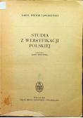 Studia z wersyfikacji polskiej