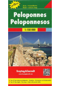 Mapa samochodowa - Peloponez 1:150 000