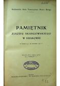 Pamiętnik zjazdu skargowskiego w Krakowie 1912 r.