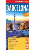 Comfort! map Barcelona 1:20 000 w.2021