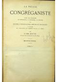 La pieuse Congreganiste tome 1 1897 r