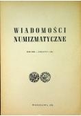 Wiadomości numizmatyczne Rok XIX