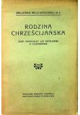Rodzina Chrześcijańska 1927 r